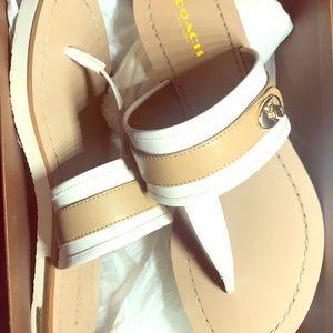 Coach Eileen sandals size 7.5